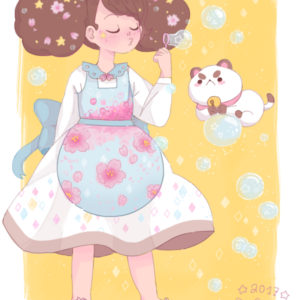 Bee and PuppyCat - Art by maiberrycake